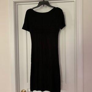 Turkish Brand Black Midi Dress Size:S.